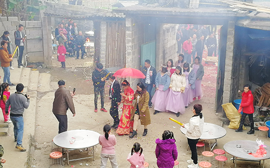 Traditional Chinese Marrage, Rural Chinese Wedding, China Wedding Cultures