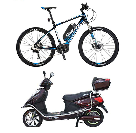 Different E-bike in the east and the west