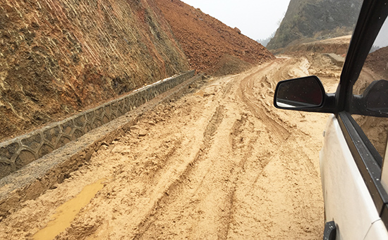 Road condition for cyclitst in China, Cycling Destinations in China.