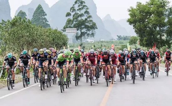 Tour of Guangxi, Cyclists in Guilin