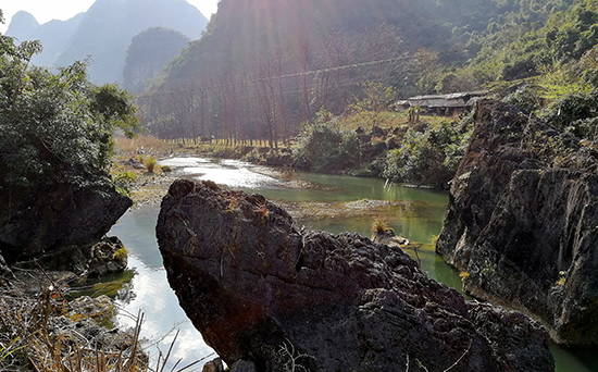 Hidden Brooks Bike Path, Bike Trails and Path in Guilin and Guangxi,China Countryside Rural Areas Bike Holidays