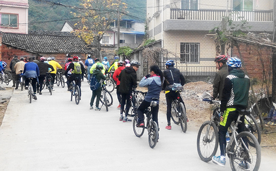 Weekend Cycling for Chinese