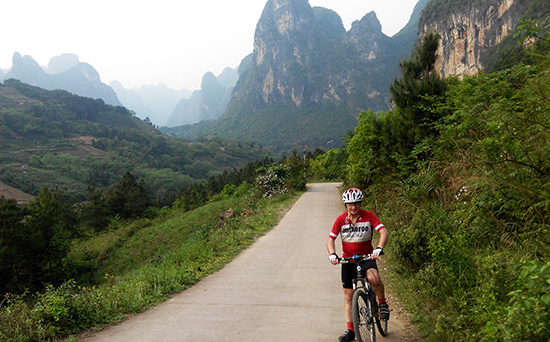 Guilin One Day Bike Tour, Join in Cycle Tour to Guilin Yangshuo