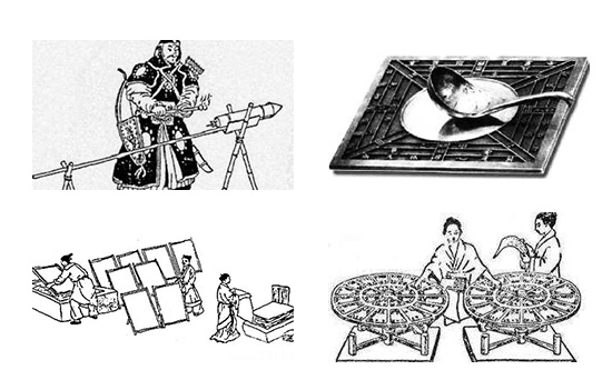 The Four Inventions of China