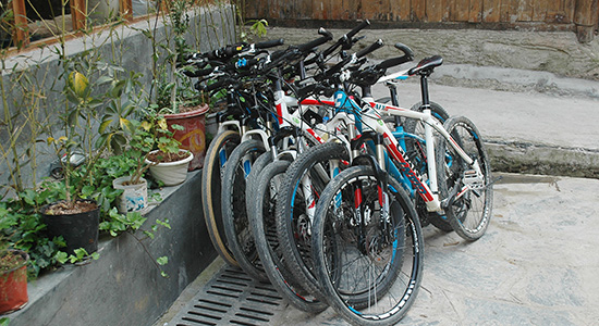 High Quality Mountain Bikes in Guilin, Bike Rental Guilin Yangshuo