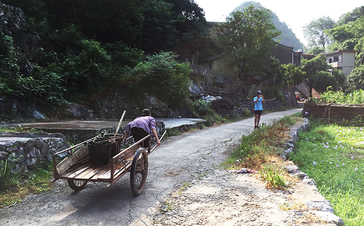 Xingping Bike Route to Yangshuo