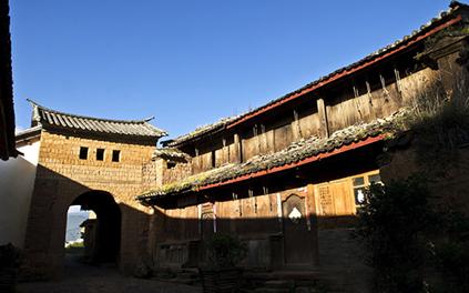 Shaxi town near Lijiang, Shaxi old town of Jianchuan.